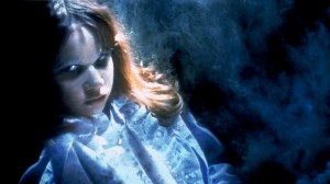 "In this publicity image released by Warner Bros. Entertainment, Linda Blair portrays a possessed Regan MacNeil in a scene from, ""The Exorcist."" (AP)"