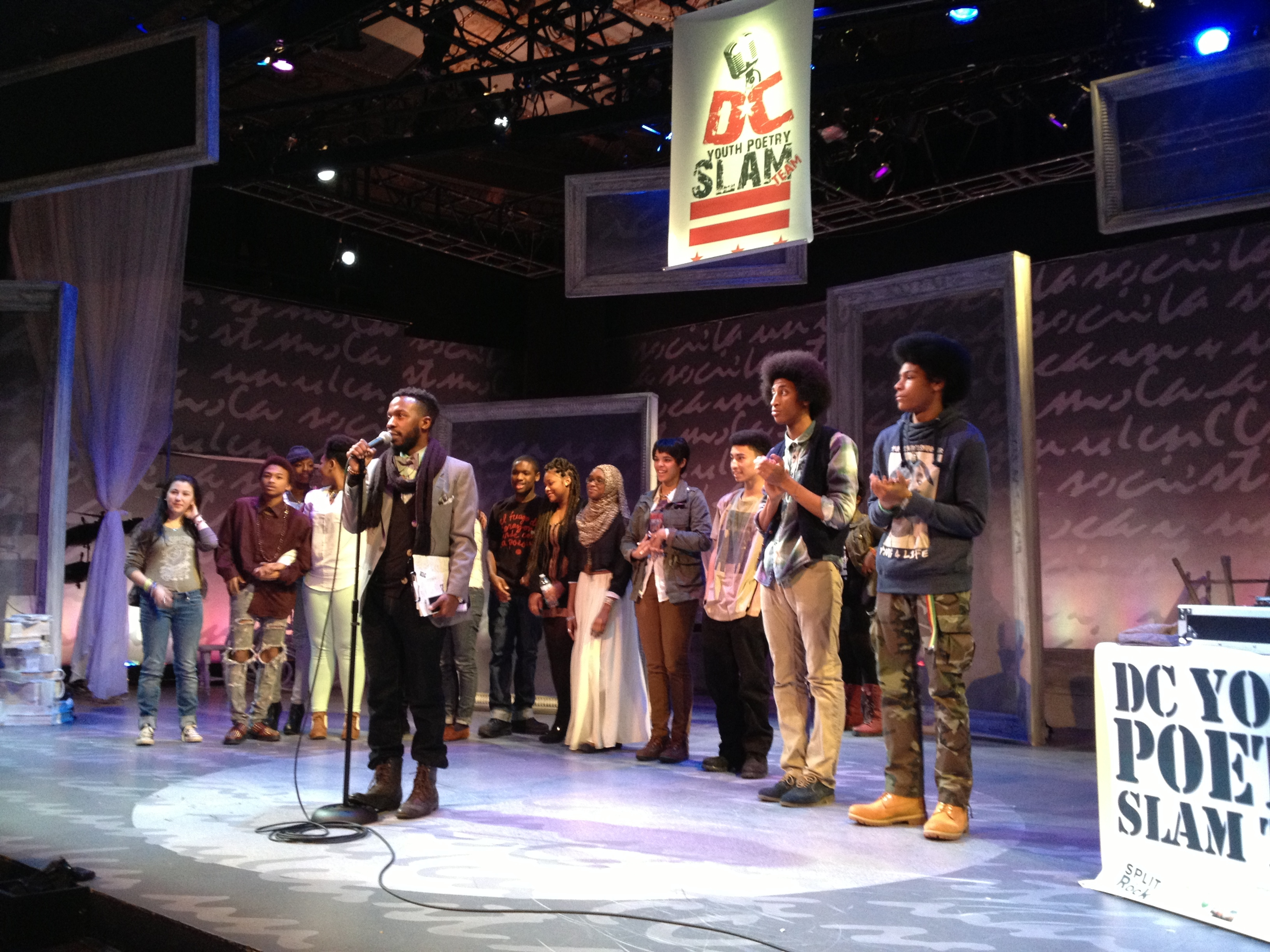 Local teens compete for slam honors