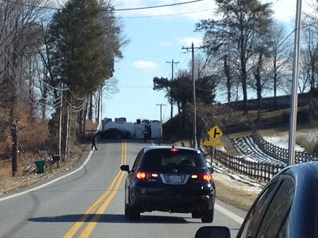 Overturned propane tanker removed, Bensville Road reopened in Waldorf