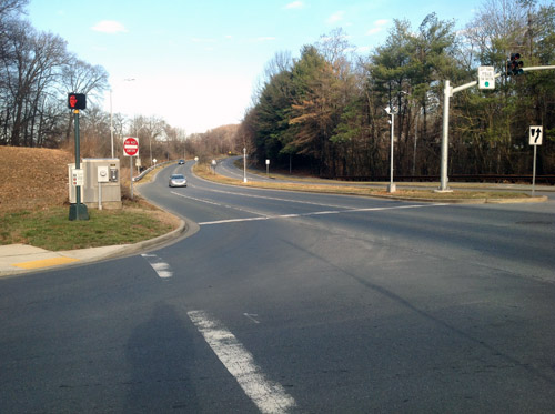 Rockville's spike in red-light camera tickets declines