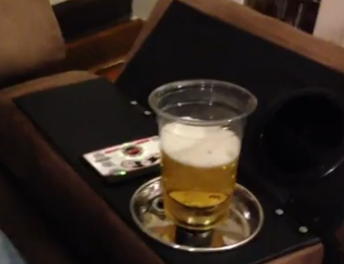 Refill you beer without leaving your seat (VIDEO)