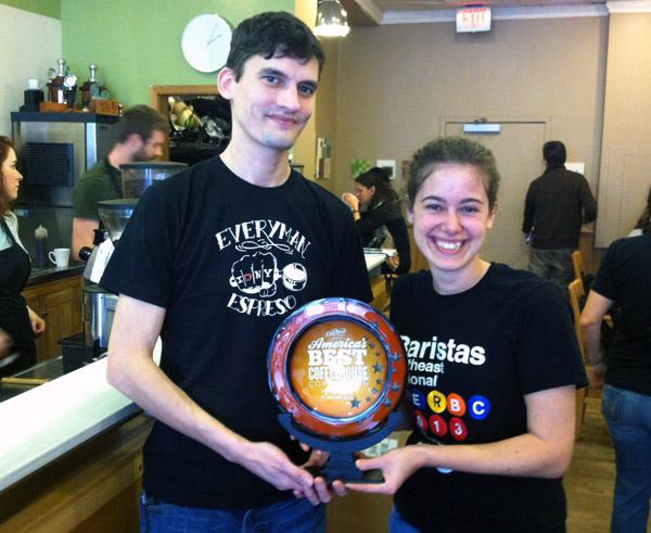 Peregrine Espresso named best coffee shop in eastern U.S.