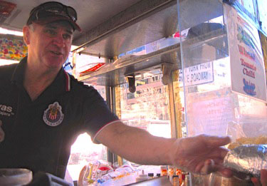Slice of Life: John Rider, serving burritos with a side of jokes