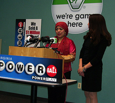 Another Powerball Winner claims her prize in Virginia
