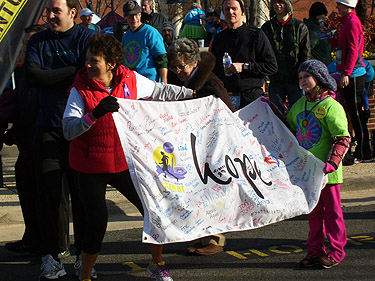 5K brings hope for brain cancer fighters