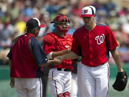 Strasburg better than results indicate in loss to Braves