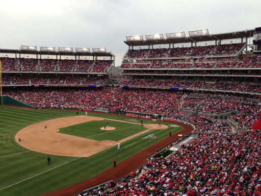 Changes at Nats Park as the team opens 10th-anniversary season