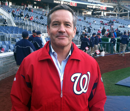 Newest racing president's great-grandsons celebrate at Nats Park (PHOTOS)