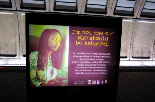 Metro anti-harassment campaign exposes predators