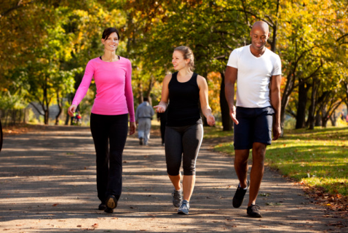 Study: Walking, just as healthy as running