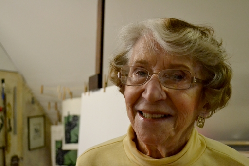 Slice of Life: Lila Asher, an active artist for more than seven decades