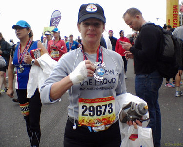 On the Run: 'I run for Boston'