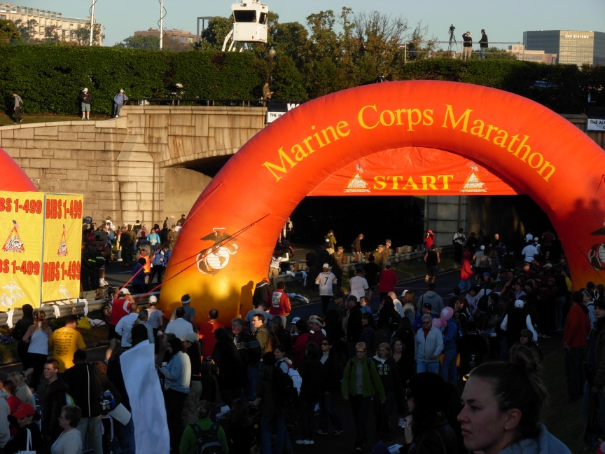 Security concerns at this year's Marine Corps Marathon