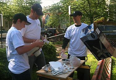 Rebuilding homes brings neighborhoods together