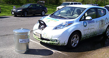 Trash can be turned into car energy