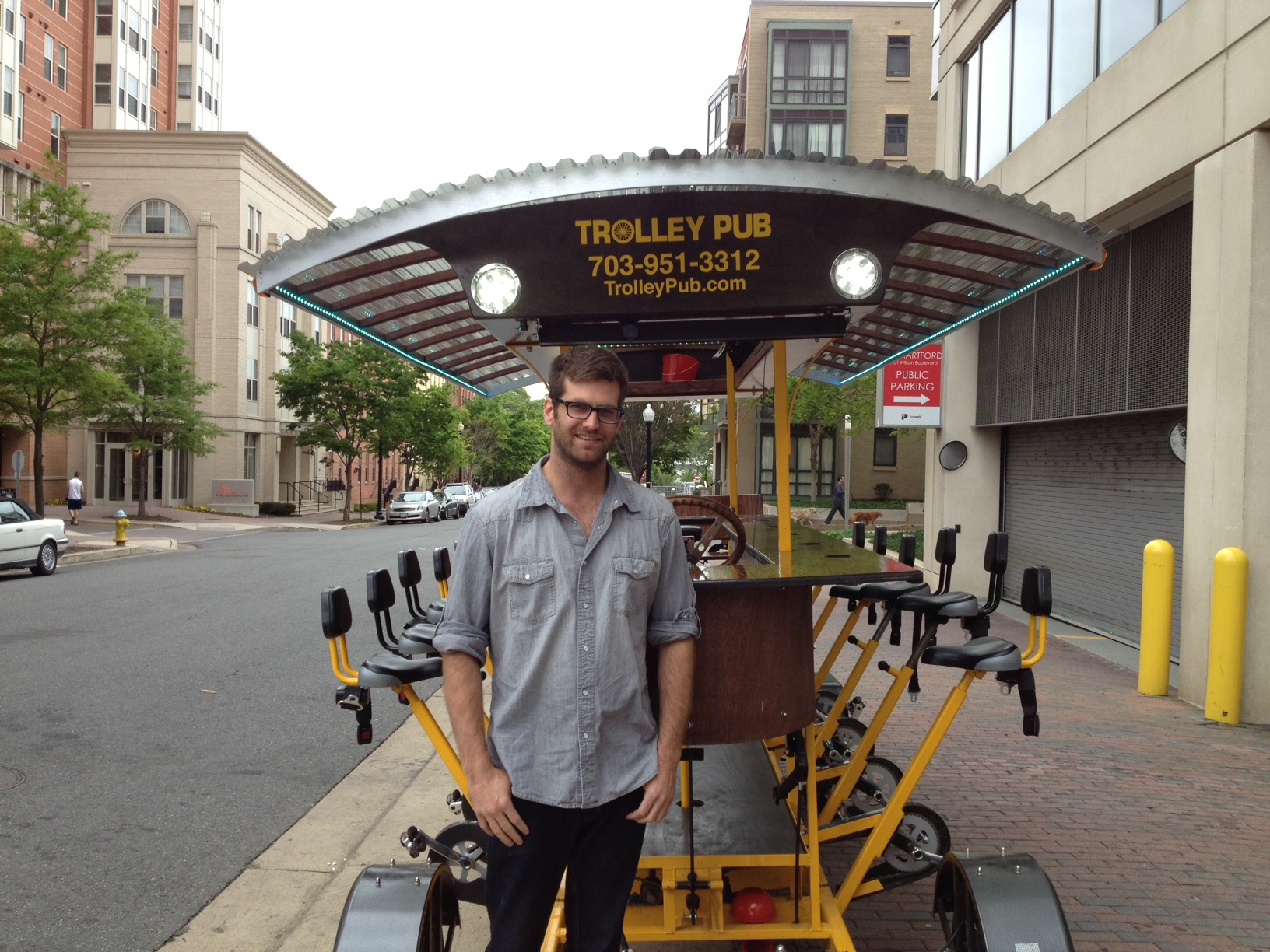For now, Arlington Trolley Pub pedals dry to local businesses