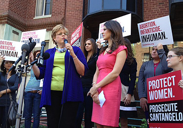 Group behind video rallies outside D.C. abortion doctor's office