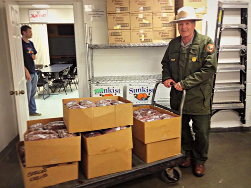 Nearly 600 lbs of venison donated to D.C. food bank