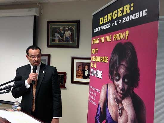 Campaign against synthetic marijuana launched in D.C.