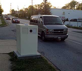 2 unauthorized speed cameras in Prince George's town