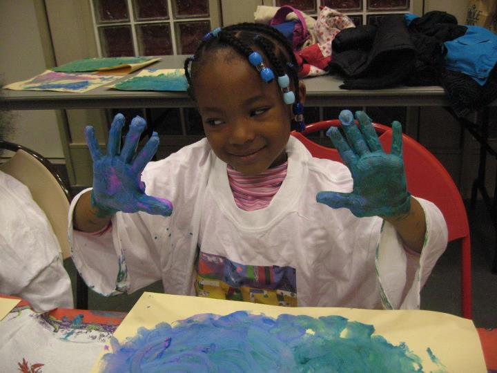 Painting a path of hope for homeless youth through art education