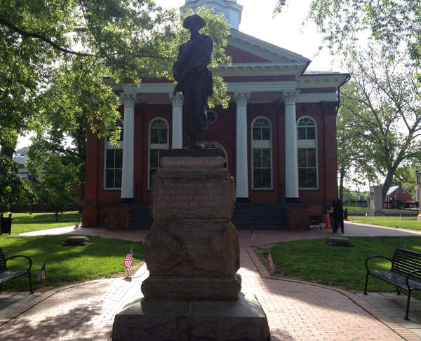 Push to move Confederate statue from Loudoun courthouse