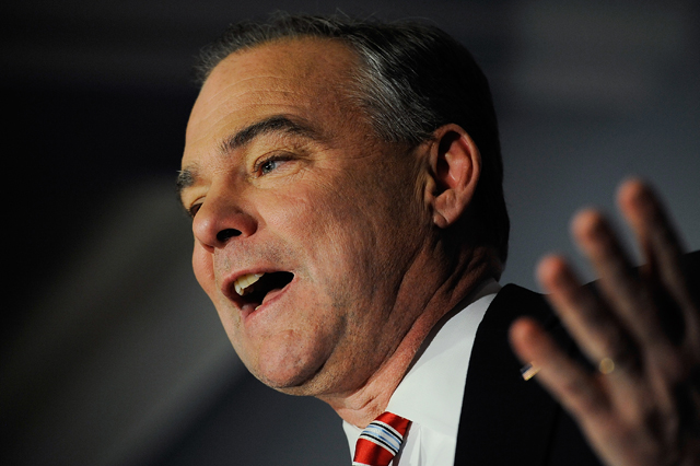 Kaine on IRS scandal: 'People need to be sacked'