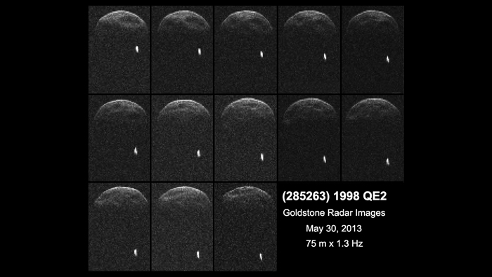 Massive asteroid set for flyby of Earth