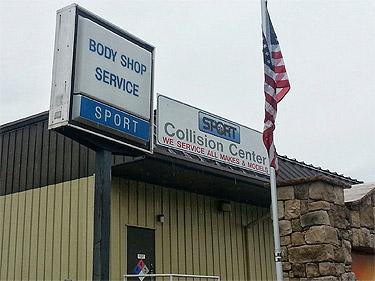 2 burned in body shop explosion