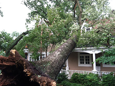 Outages remain after storm rips through region