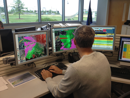 NWS: Where the weather forecast really comes from
