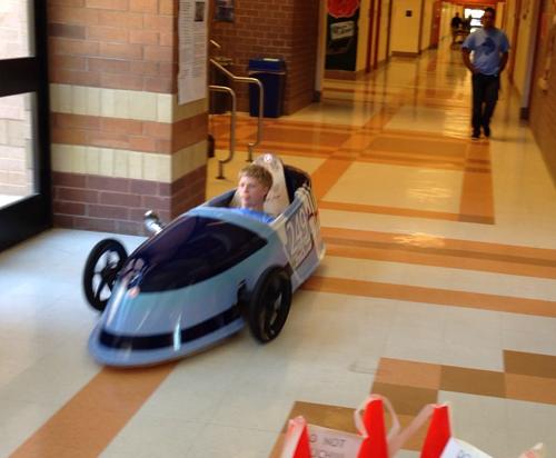 Clarksburg HS wins electric car grand prix