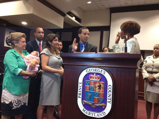 Newly appointed Prince George's school board members sworn in