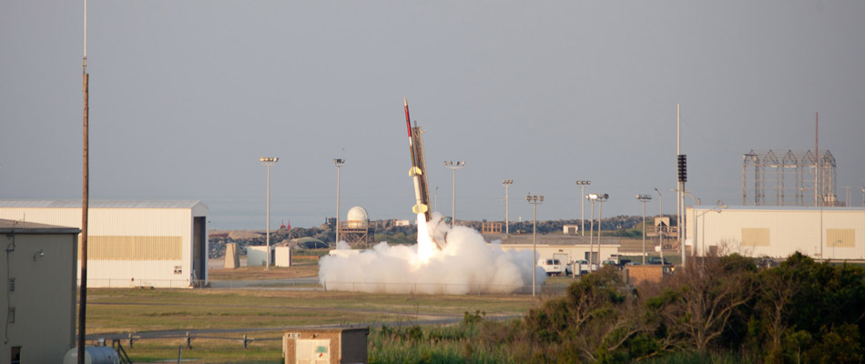 It's a blast: Va. students launch experiments into space