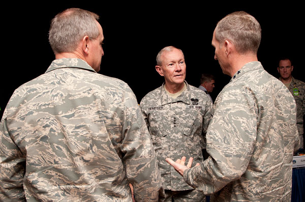 Joint Chiefs Chairman worried about 'swagger' of force