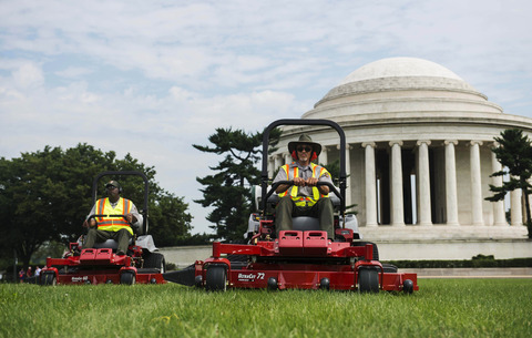 National Mall gets new propane mowers