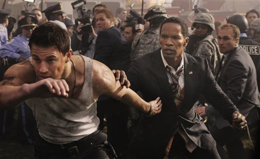 Emmerich, 'White House Down' not as fun post-9/11