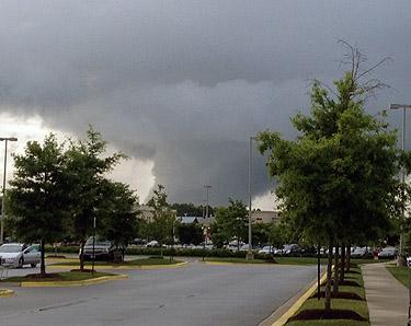 Weak tornado confirmed in Prince George's Co.