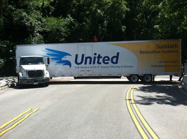 Chain Bridge closed due to tractor-trailer crash