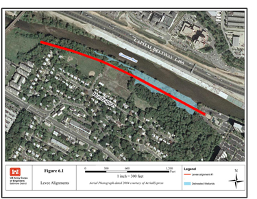 Huntington levee project to begin