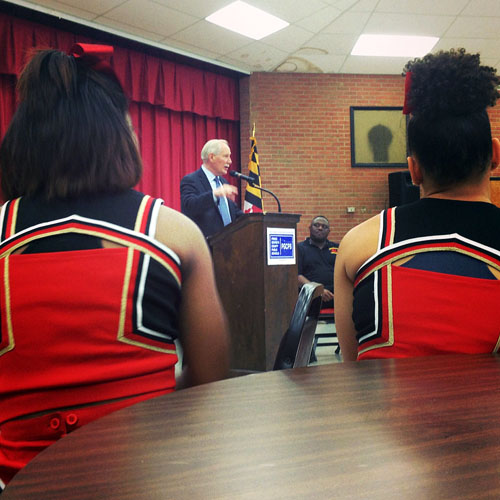 Hundreds turn out to meet new CEO of Prince George's County schools