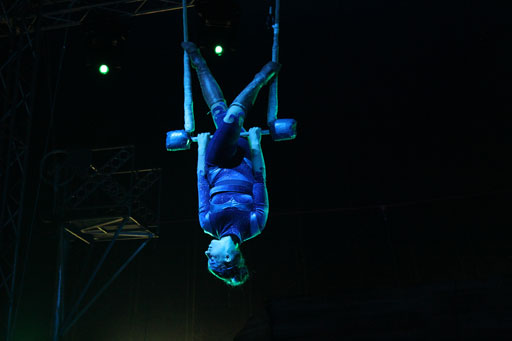 Up in the air: D.C. resident spends her 20s touring the world on a trapeze