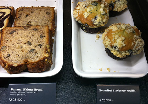 Are visible calorie counts impacting local consumers' purchases at Starbucks?