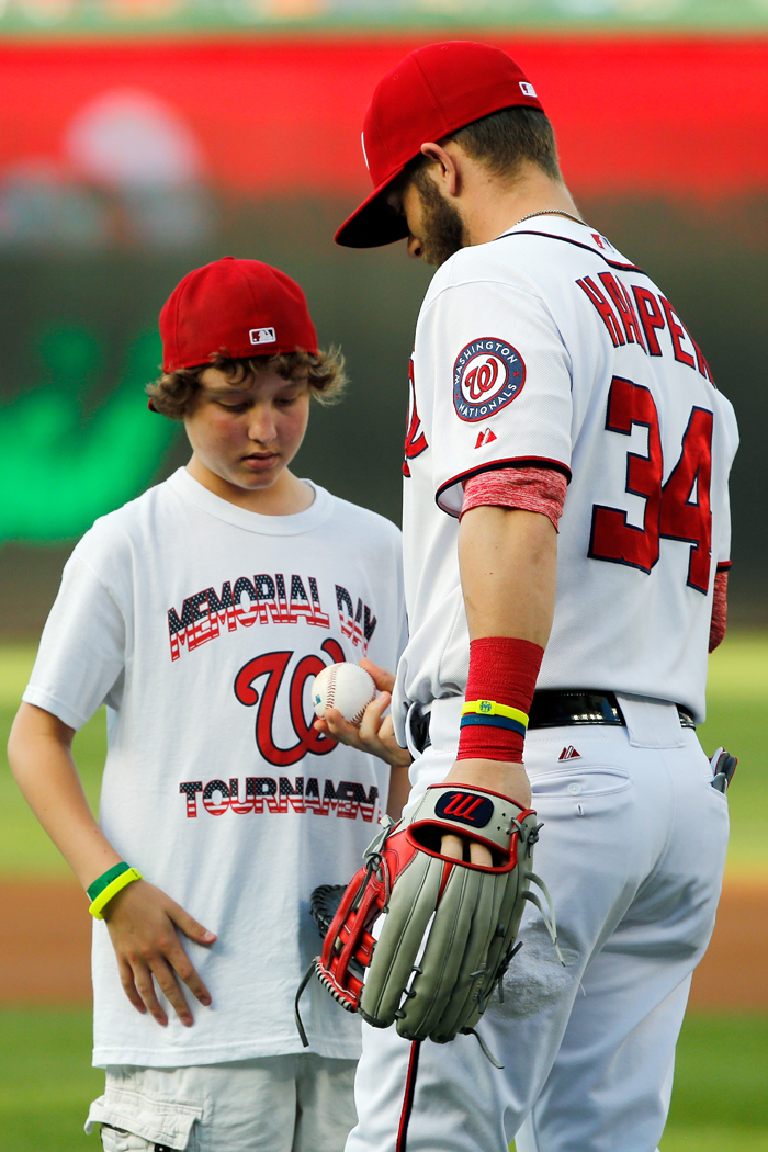 13-year-old Nationals fan who met Harper, threw out first pitch dies of cancer