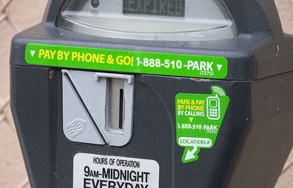 Broken meters make up more than 80 percent of DDOT service calls