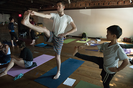 Meet the District's youngest yoga instructor