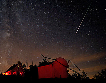 Perseid shower to light up late-night sky