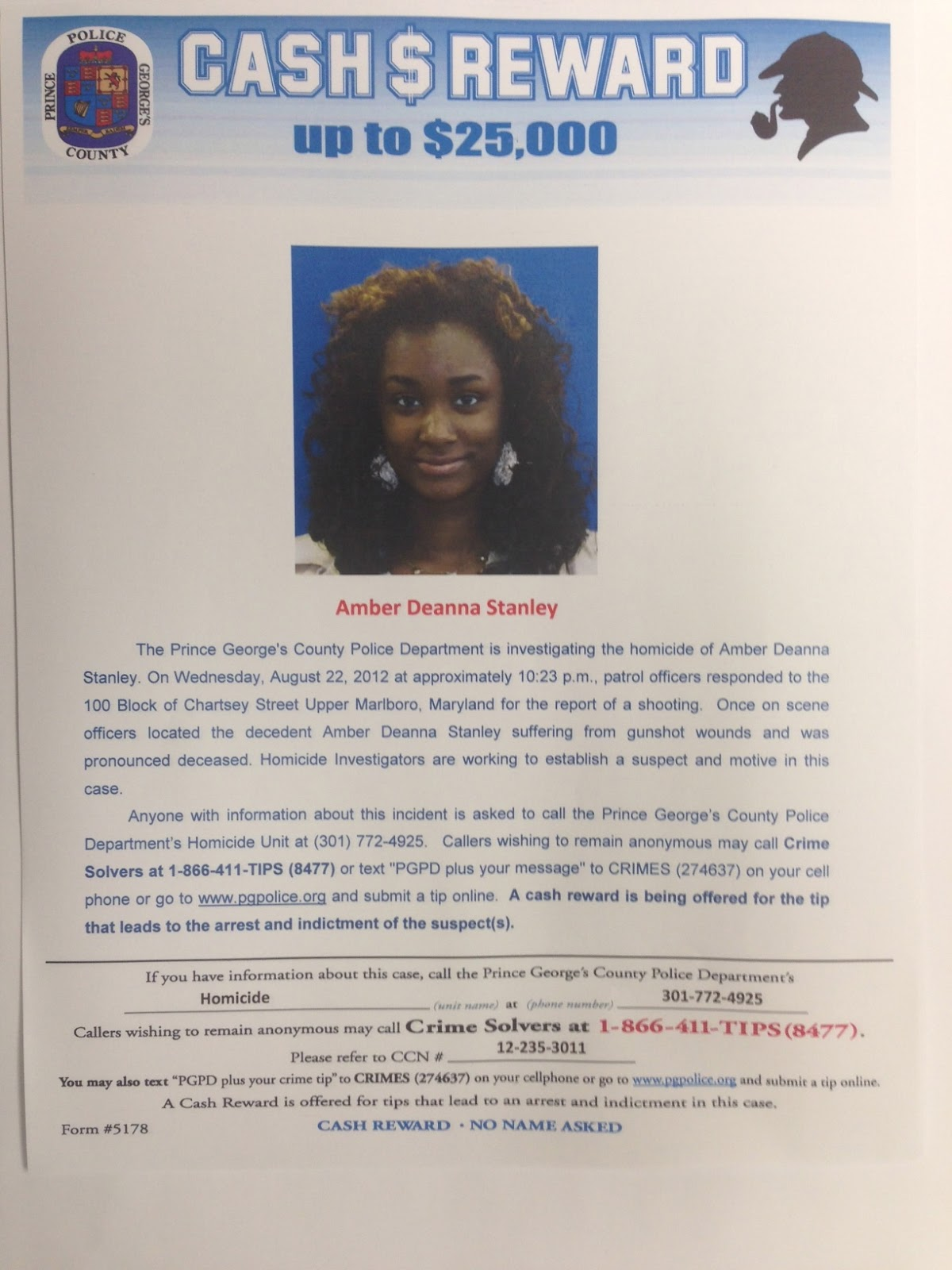 One year later, police seek answers in Md. teen's murder