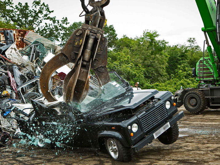 Land Rover Alexandria >> Watch Land Rover being destroyed (Video) | WTOP