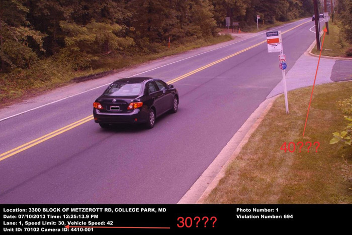 Police question College Park speed cam's fairness (Video)